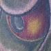 Tattoos - Close up of Hanya Mask - 15384